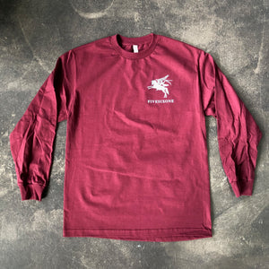 561 Longsleeve T-shirt Airbourne Maroon