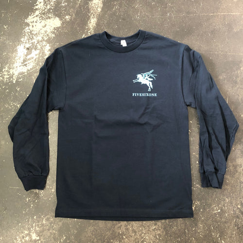 561 Longsleeve T-shirt Airbourne Navy