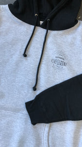 561 Sweatshirt Hoodie Badge Black/Heather Grey