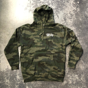 561 Sweatshirt Hoodie Fishing Club Camo