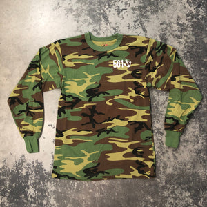 561 Longsleeve T-shirt Fishing Club Camo