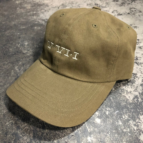 561 Hat Dad Cap Simple Roman Olive