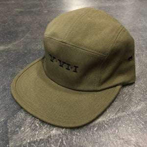 561 Hat 5 Panel Simple Roman Olive/Black