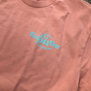 561 T-shirt Genuine Desert Pink/Light Blue