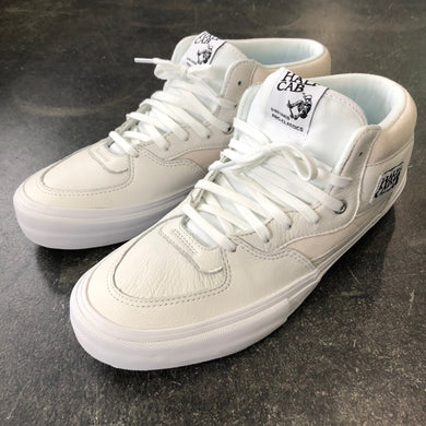 Vans Half Cab Pro White Leather