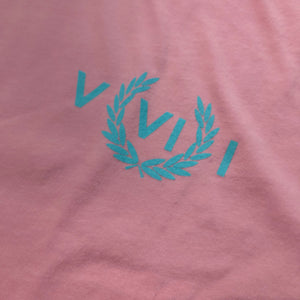 561 T-shirt Perry Numeral Pink/Light Blue