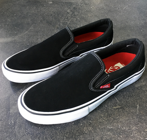 Vans Slip On Pro Black/White