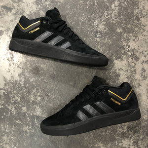 Adidas Tyshawn Jones Black/Black/Gold
