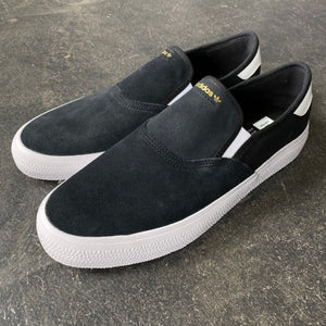 Adidas 3MC Slip On Black Suede/Canvas