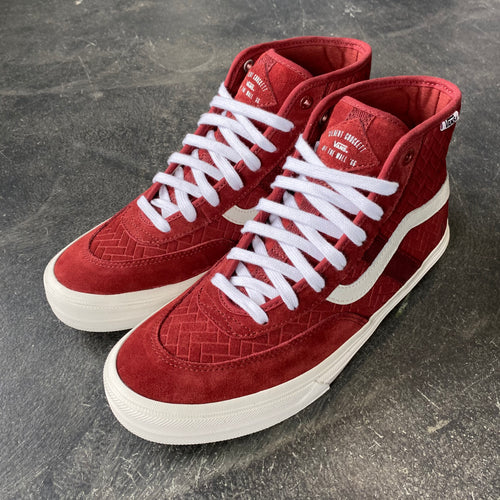Vans Crockett High Pro NJ Brick/White