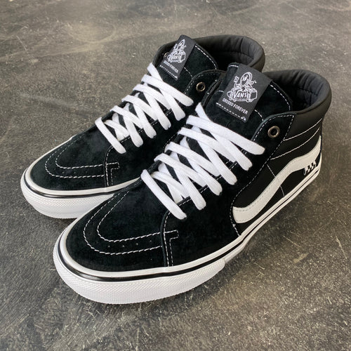 Vans Skate Grosso Mid Black/White/Emo Leather