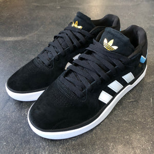 Adidas Tyshawn Jones Black Suede Cblack/Ftwhite