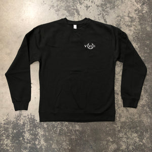 561 Sweatshirt Crewneck Numeral Black/White
