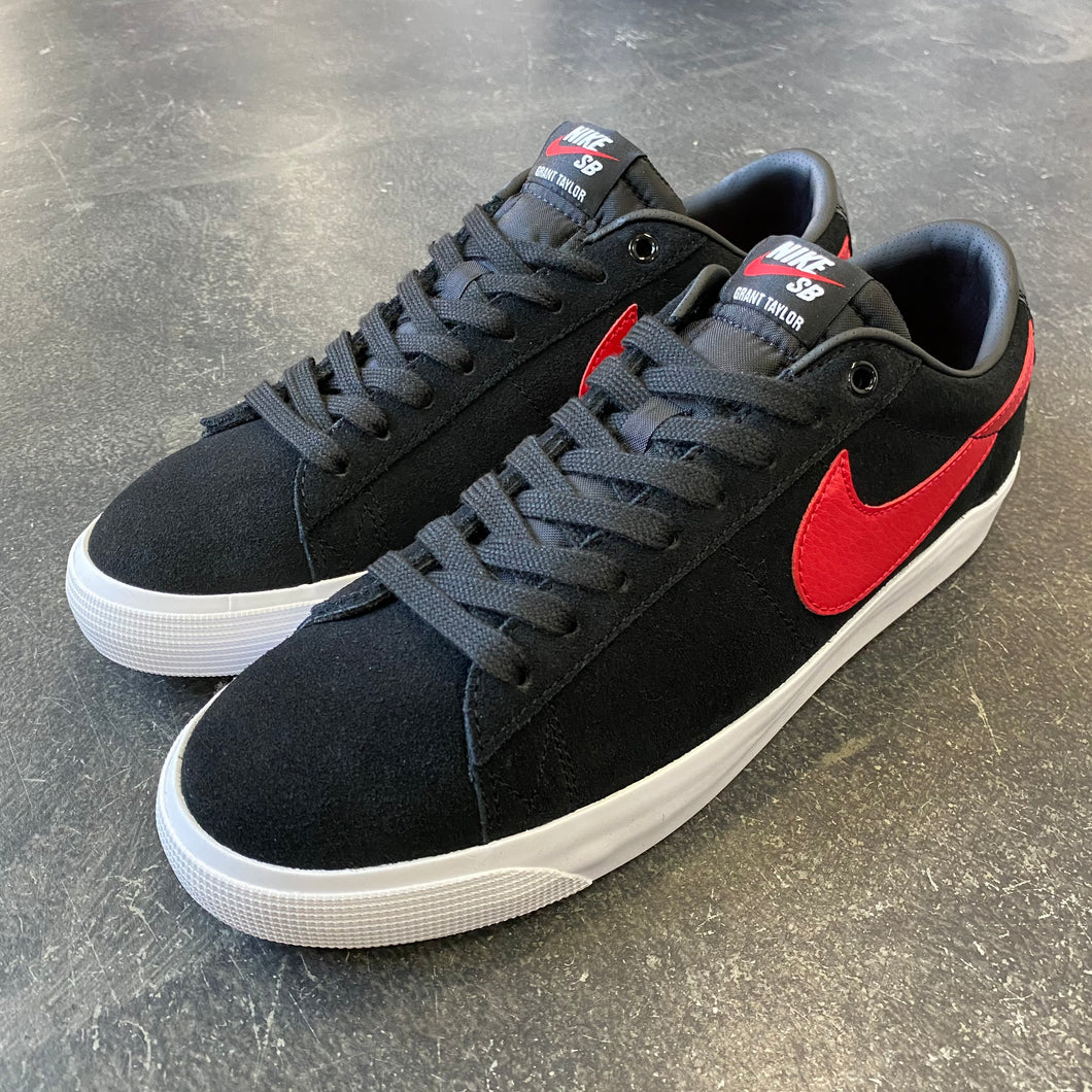 Nike SB Blazer Low GT Black/University Red