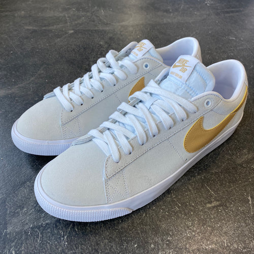 Nike SB Blazer Low GT White/Club Gold-White