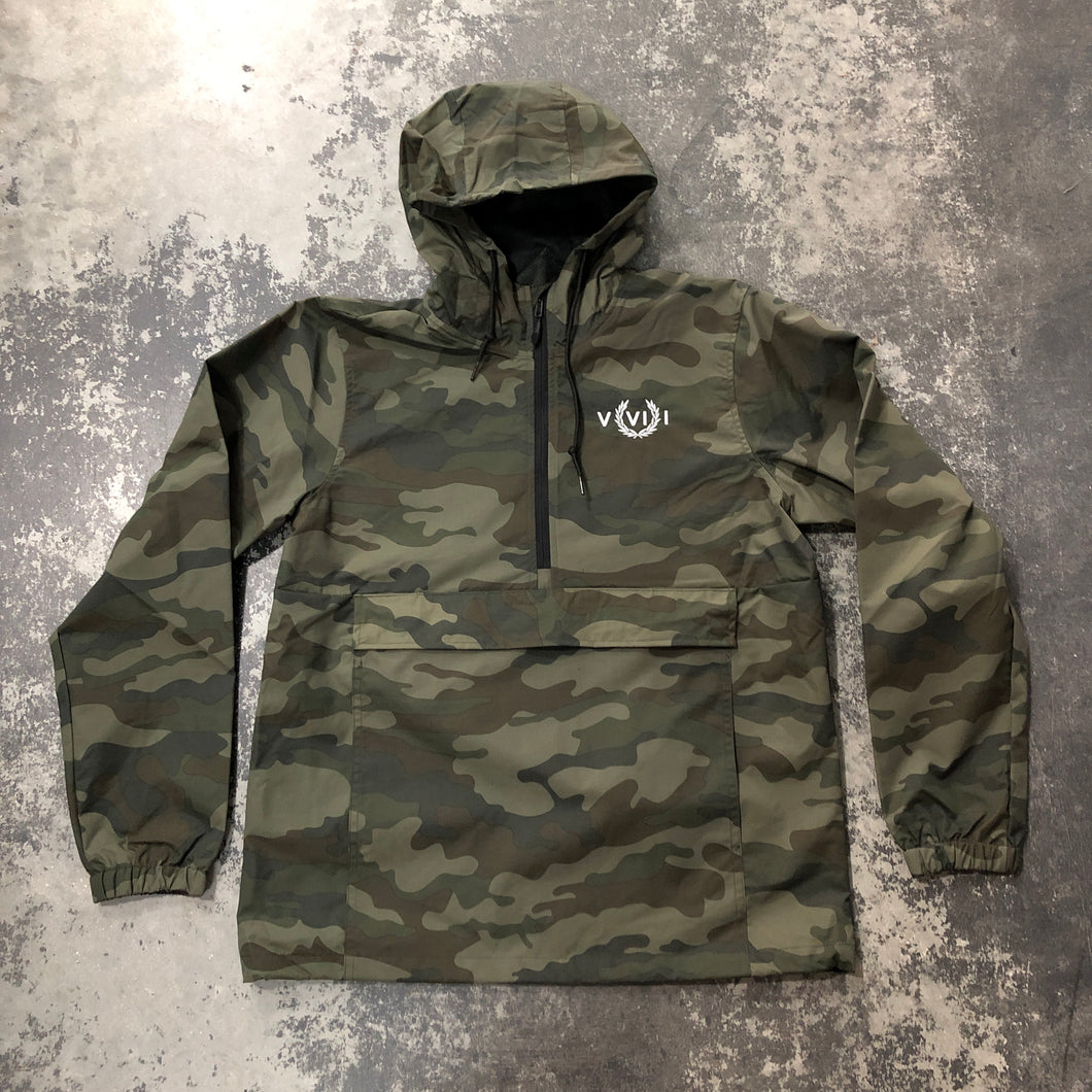 561 Windbreaker Anorak Jacket Camo