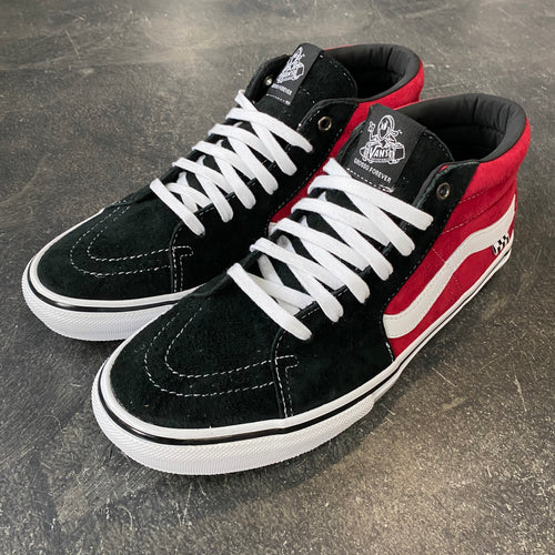 Vans Skate Grosso Mid Black/Red