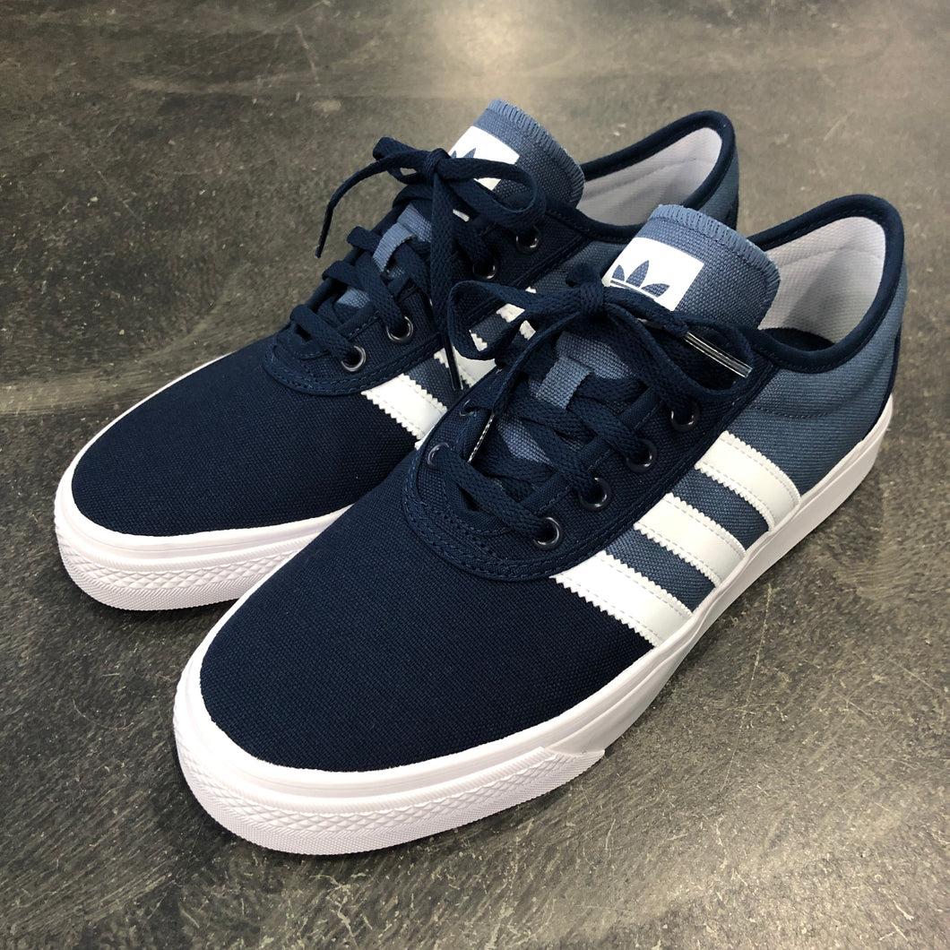 Adidas Adi-Ease Navy/White Canvas