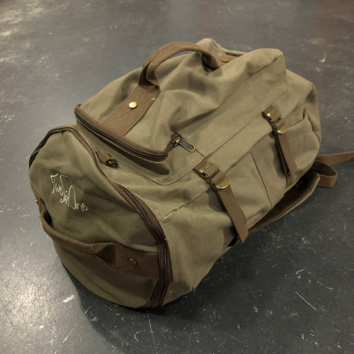 561 Duffle/Backpack Combo Olive/Brown