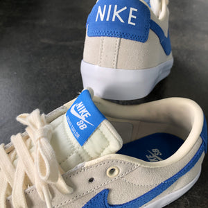 Nike SB Blazer Low GT Pale Ivory/Pacific Blue