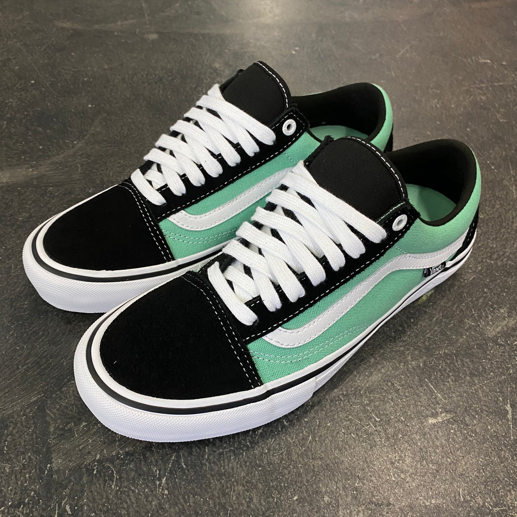 Vans Old Skool Pro Black/Jade
