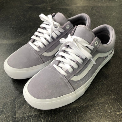 Vans Old Skool Pro Lilac Gray/True White