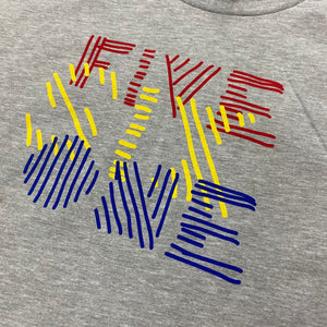 561 T-shirt Marker Lines Heather Grey/Primary