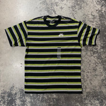 Nike SB Striped Loose Fit T-Shirt Black/Olive