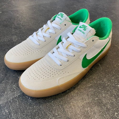 Nike SB Heritage Vulc Summit White/Lucky Green