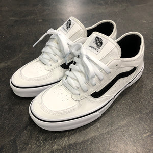 Vans Rowley Classic True White/Black Leather