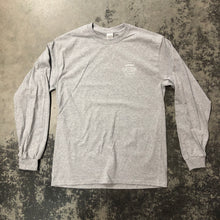 561 Longsleeve T-shirt Badge Logo Heather Grey/White