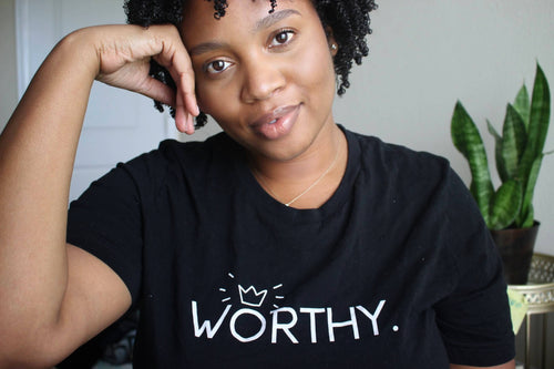 WORTHY T-Shirt (Medium Print)