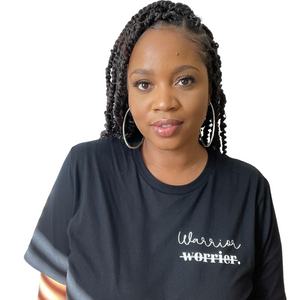 Warrior, Not Worrier Shirt