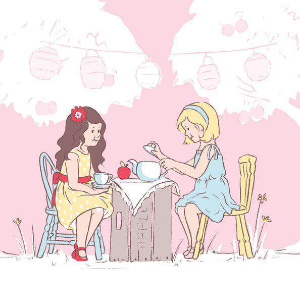 Apple Picking - Tea Party