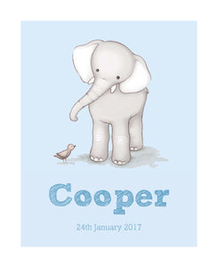 Elephant - Personalised Print