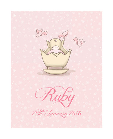 Precious Little One - Personalised Print