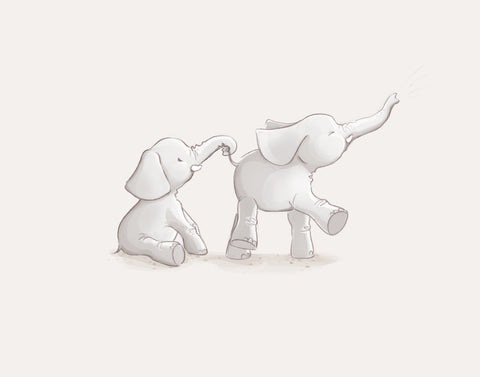 Two Little Elephants