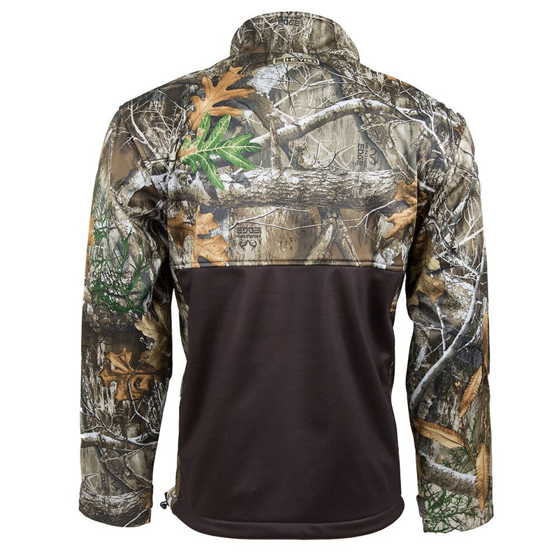 Landing Zone Full Zip : Realtree Edge