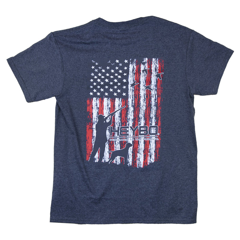 Merica Ducks : Charcoal Heather