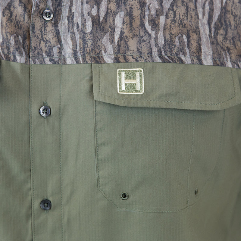 The Outfitter Shirt : Two Tone Long Sleeve