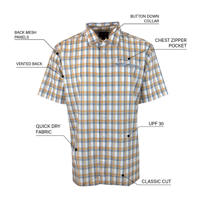 Beachcomber - White / Grey / Orange