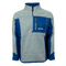 Cabin 1/4 Zip: Blue/Grey