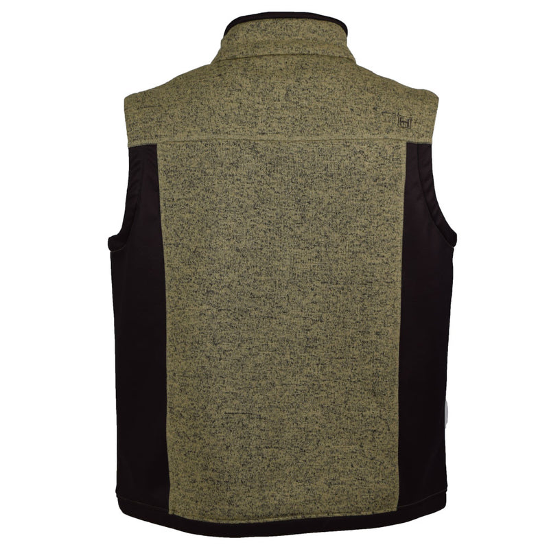 Cabin Vest: Khaki/Brown