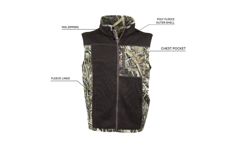 Cabin Vest: Chocolate/Max-5