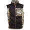 Cabin Vest: Realtree Edge/Chocolate