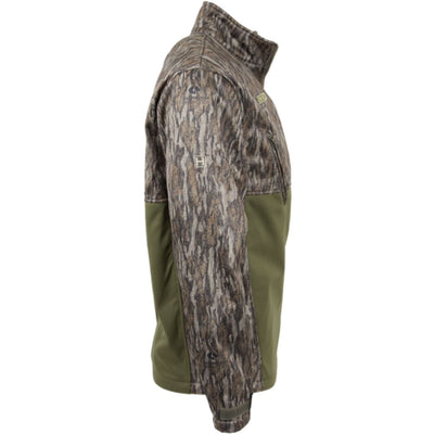 The Landing Zone 1/4 Zip : Bottomland/Olive