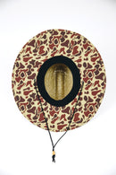 Straw Hat : Old School Camo