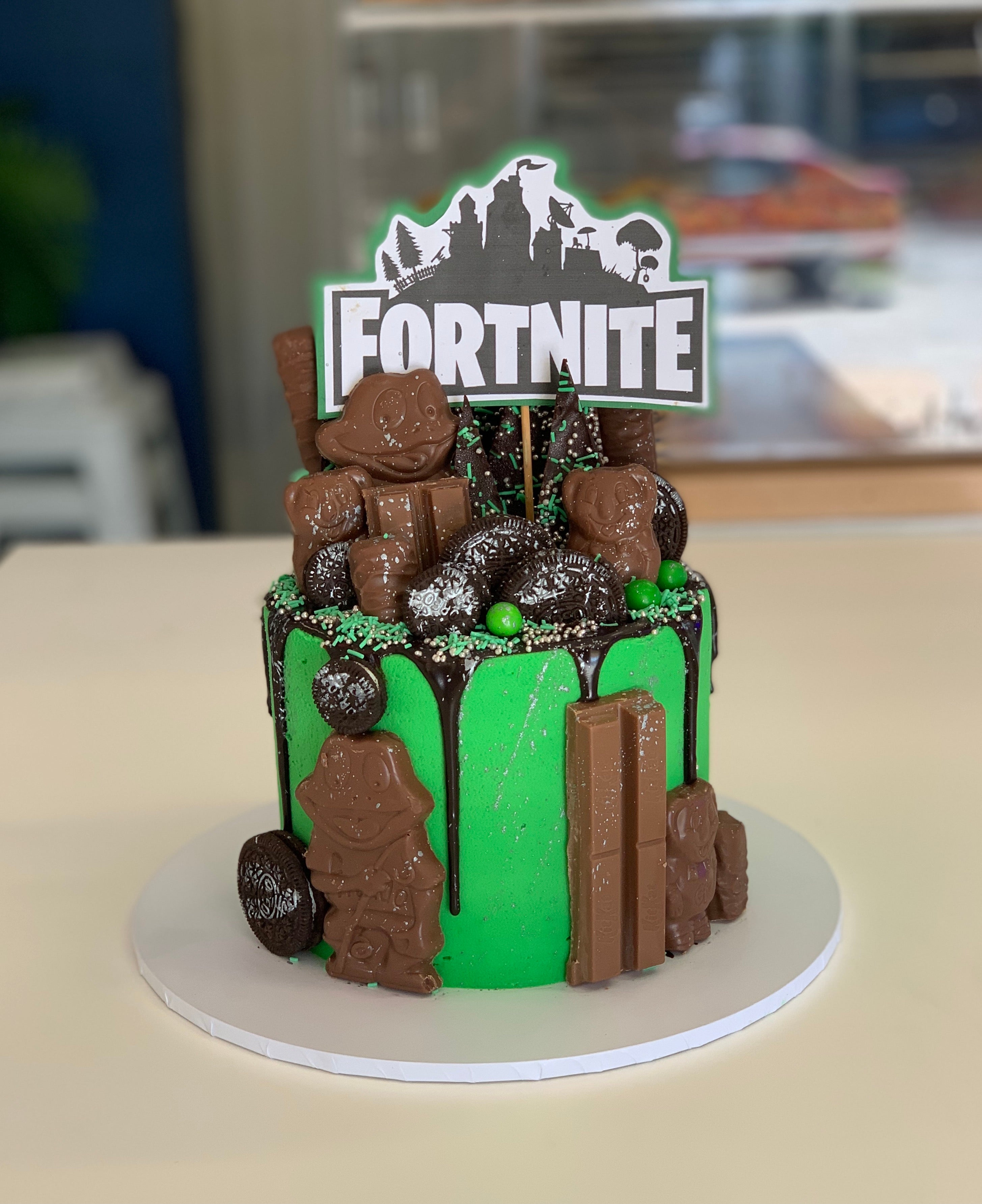 The Fortnite Cake