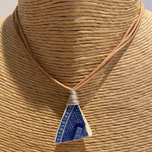 Load image into Gallery viewer, Sea Pottery Triple Strand Necklace