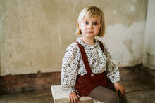 Load image into Gallery viewer, Little Cotton Clothes Josephine Blouse - Dainty Multi-tone Floral - 2-3Y, 4-5Y